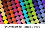 professional multicolor... | Shutterstock . vector #588624491