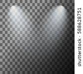 scene illumination. cold light... | Shutterstock .eps vector #588628751