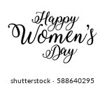happy women's day background | Shutterstock .eps vector #588640295