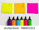 stationery background   group... | Shutterstock . vector #588651311