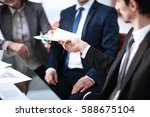 business people in modern office | Shutterstock . vector #588675104