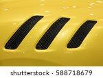 modern sports car detail