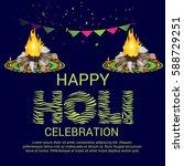 vector illustration of a banner ... | Shutterstock .eps vector #588729251