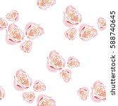watercolor background with...   Shutterstock . vector #588740645