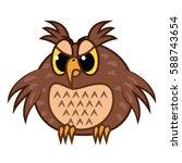 isolated emoji character...   Shutterstock .eps vector #588743654