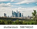 Russia. Moscow. View Of The...