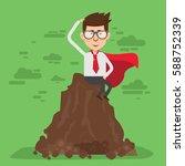 businessman concept design... | Shutterstock .eps vector #588752339