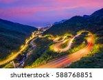 Jiufen  Taiwan Hillside Roads...