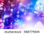 Stock photo colorful crowd on concert disco night 588779834