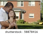 young romantic couple spends...   Shutterstock . vector #58878416