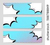 abstract creative concept... | Shutterstock .eps vector #588788849