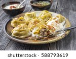 Traditional Turkish Manti With...