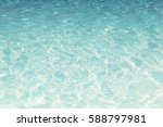 shining blue water ripple... | Shutterstock . vector #588797981