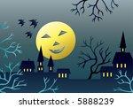 scary landscape.   Shutterstock .eps vector #5888239