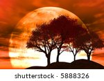 sunset | Shutterstock . vector #5888326