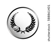 laurel wreath icon. | Shutterstock .eps vector #588861401