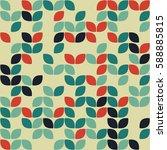 geometric seamless pattern... | Shutterstock .eps vector #588885815