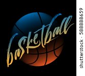 streetball logo | Shutterstock .eps vector #588888659