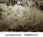 Abstract Grungy Metal Surface...