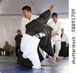los angeles   april 5   aikido... | Shutterstock . vector #58891709