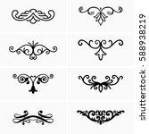design elements   Shutterstock .eps vector #588938219