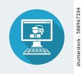 car driver web service | Shutterstock .eps vector #588967334