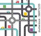 infographic template. crossway  ... | Shutterstock .eps vector #588971255