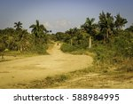 on our way through cuba | Shutterstock . vector #588984995