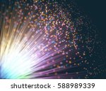 3d illustration. colored... | Shutterstock . vector #588989339