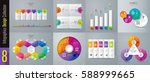 infographics design vector and... | Shutterstock .eps vector #588999665