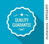 quality guarantee label  vector ... | Shutterstock .eps vector #589026395