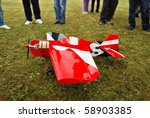 red and white radio controlled... | Shutterstock . vector #58903385