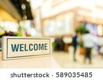 Small photo of Welcome, Business Concept