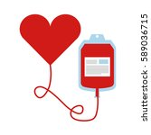 blood donation bag icon | Shutterstock . vector #589036715
