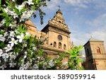 st. andrew church   former... | Shutterstock . vector #589059914