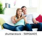charismatic man embracing his...   Shutterstock . vector #58906405