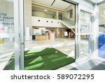 door mats at the entrance of... | Shutterstock . vector #589072295