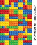 seamless vector pattern of... | Shutterstock .eps vector #589082534
