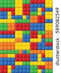 seamless vector pattern of... | Shutterstock .eps vector #589082549