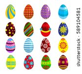 Easter Eggs Spring Colorful...