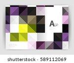 vector square minimalistic...   Shutterstock .eps vector #589112069