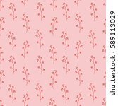 seamless pattern composed of... | Shutterstock .eps vector #589113029