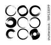 grunge hand drawn white...   Shutterstock .eps vector #589133099
