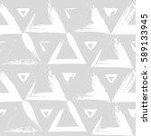 seamless vector pattern of... | Shutterstock .eps vector #589133945