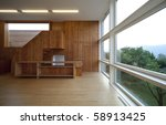 beautiful ecologic house | Shutterstock . vector #58913425