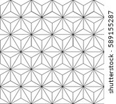 seamless geometric pattern with ... | Shutterstock .eps vector #589155287