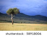 The Great Rift Valley In Kenya...