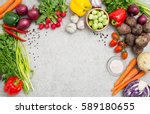 food background cooking... | Shutterstock . vector #589180655
