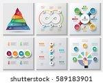 business data visualization.... | Shutterstock .eps vector #589183901
