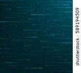 Background Of Binary Code Blue